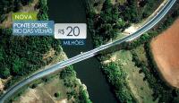 Nova ponte Rio das Velhas, acesso à Serra do Cipó
